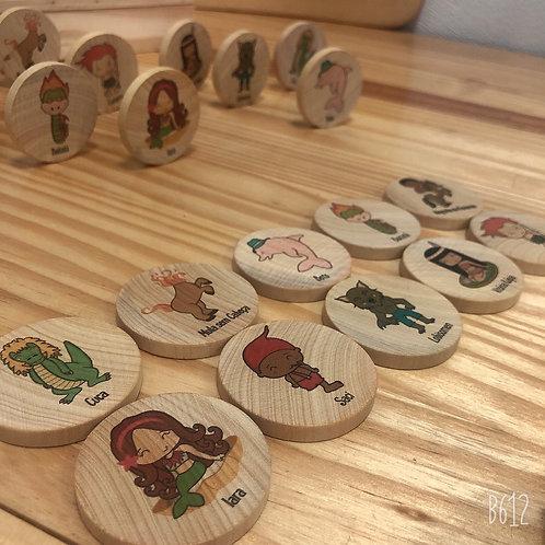 Jogo de Memória - Folclore Brasileiro