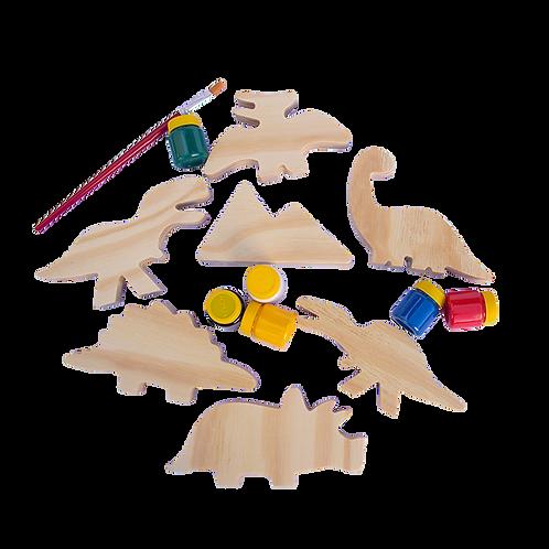 Kit Dinossauro para Colorir