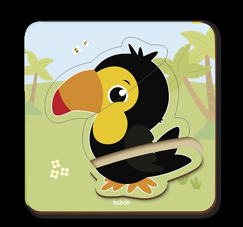 Quebra - Cabeça Baby: Tucano