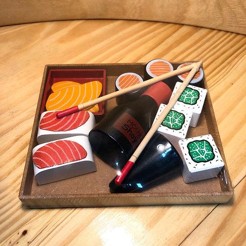 Coleção Comidinha - Sushi