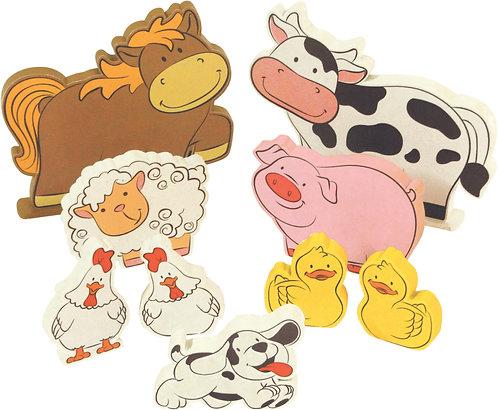 Coleção Fazendinha - Animais da Fazenda