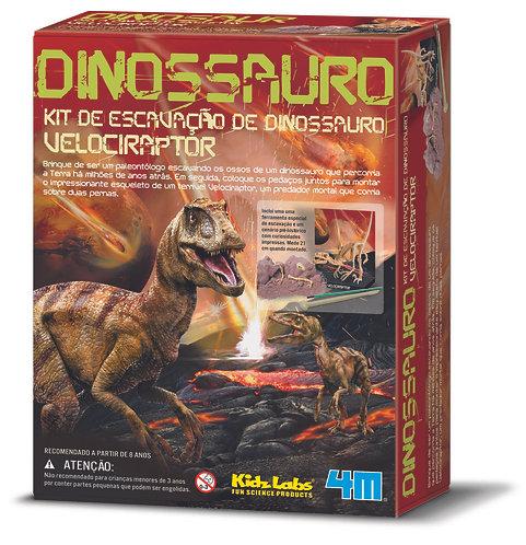 Kit de Escavação - Velociraptor