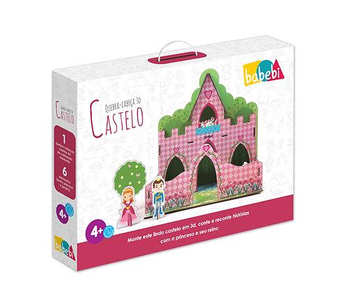 Quebra - Cabeça 3D - Castelo