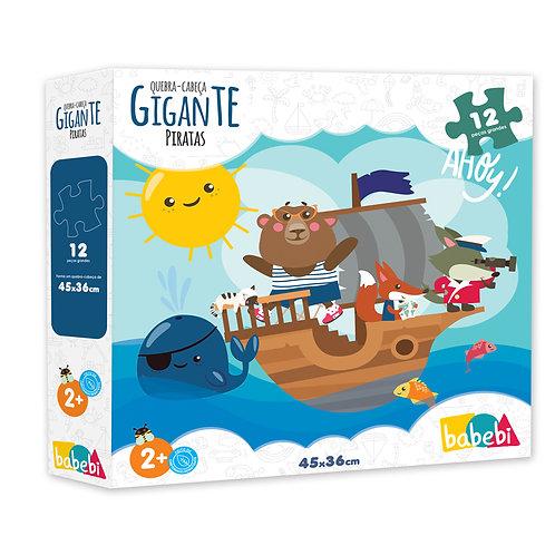 Quebra - Cabeça Gigante: Piratas