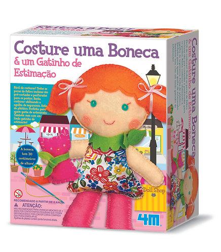 Costure Uma Boneca - Gatinho