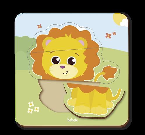 Quebra - Cabeça Baby - Leão