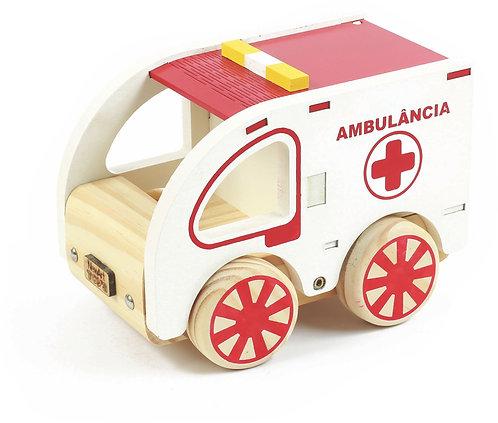 Coleção Carrinhos - Ambulância