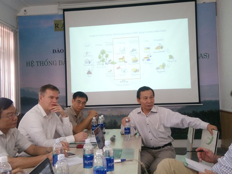 Supporting sustainable forest industry in Vietnam
