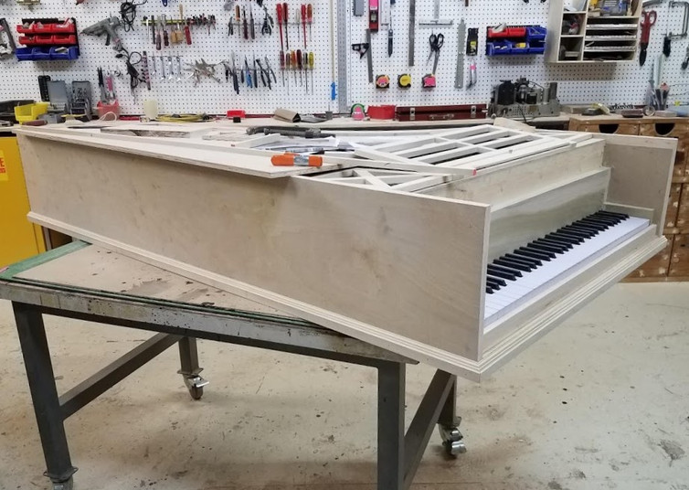 Attaching Molding to Side