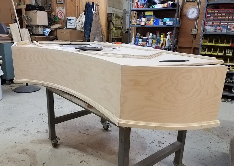 Attaching Molding to Curve