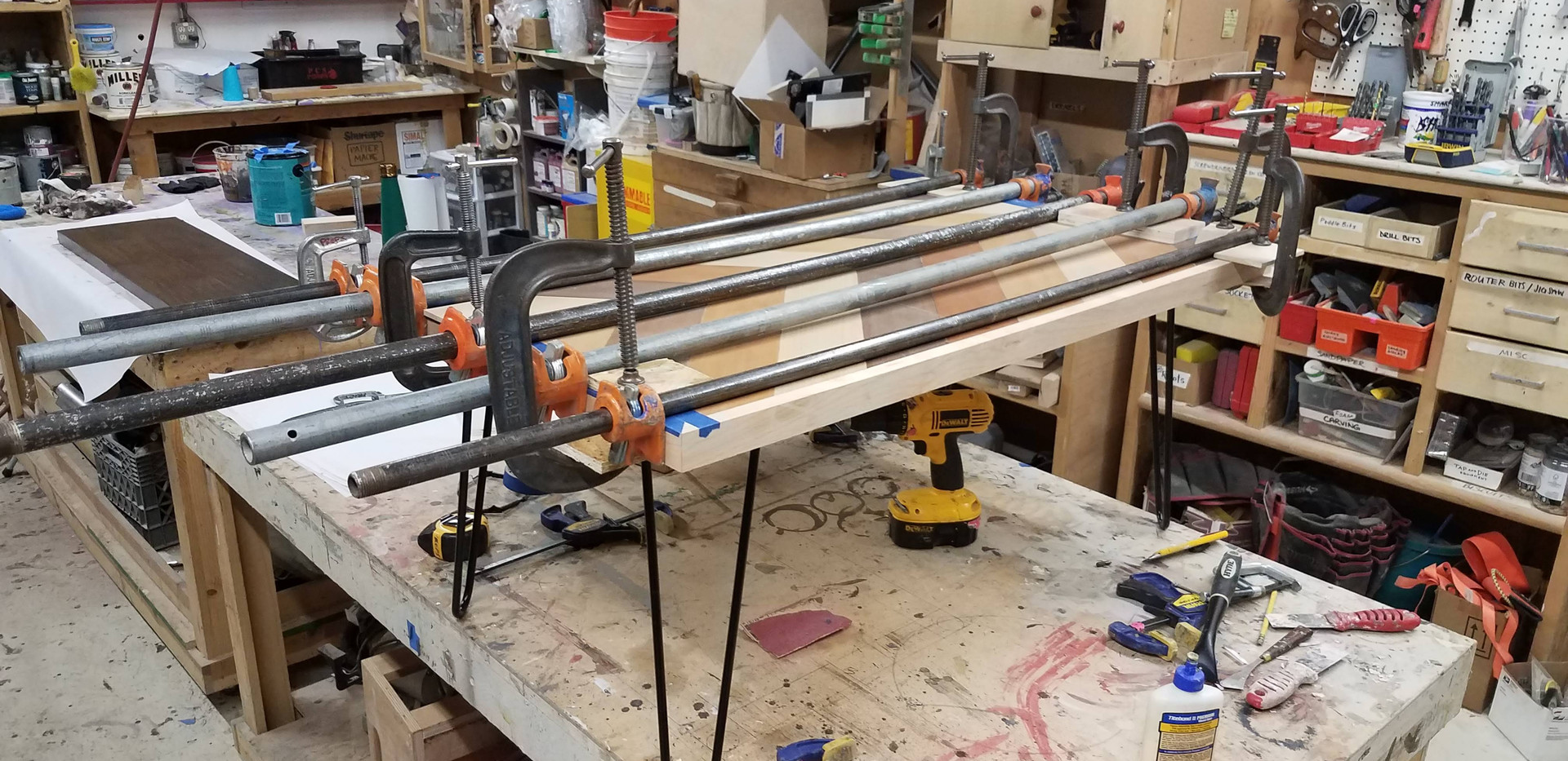 Attaching Edge Strips