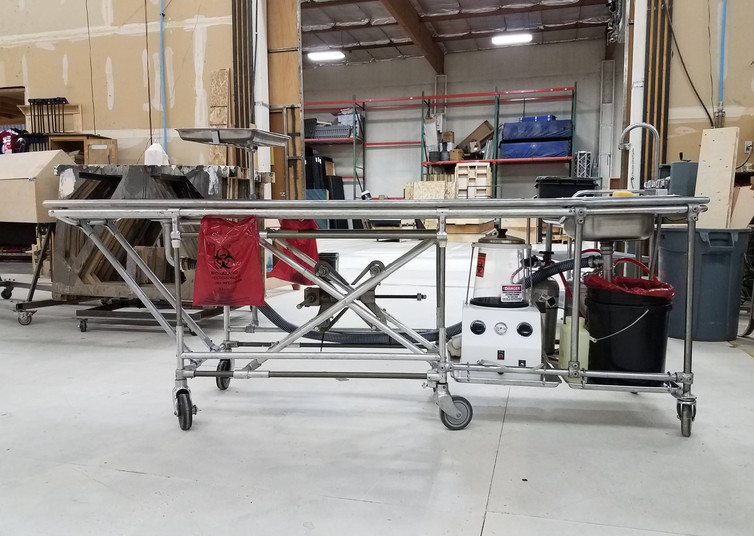 Final Placement on Cart