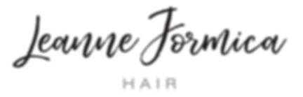 Logo wedding hair at Leanne Formica Hair
