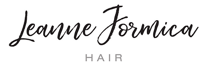 Logo wedding hair at Leanne Formica Hair