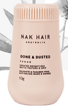 Done & Dusted Creates weightless matte texture & grip.