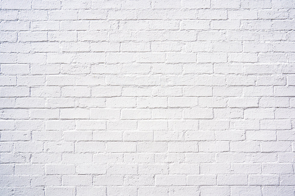 Classy white brick exterior wall design