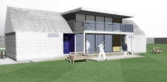 Architects Sussex Cricket Sports Pavilion Design