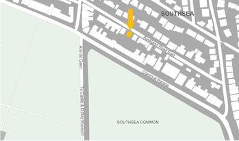 Location of HOP Architects Southsea
