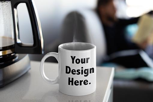 mockup-of-a-coffee-mug-next-to-a-coffee-