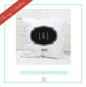 #couplesmonogram #valentines #cushion #s
