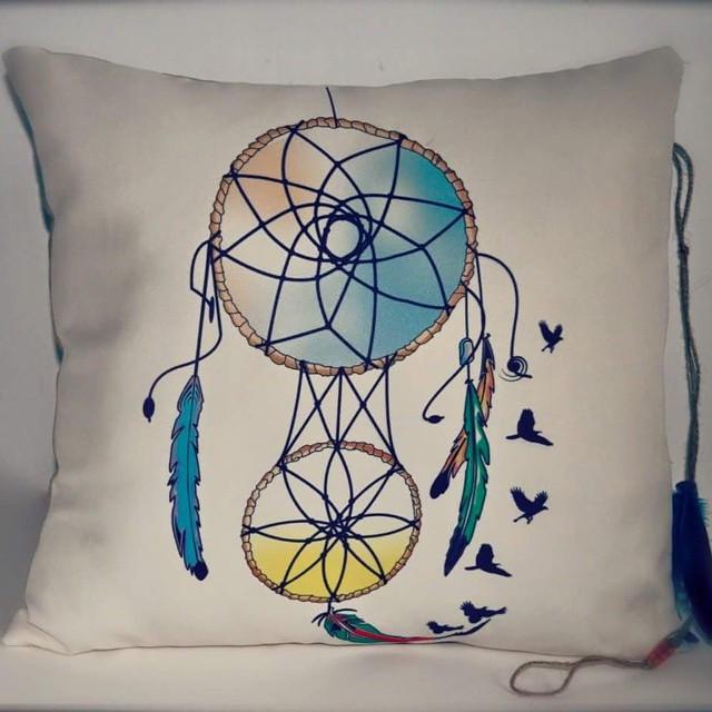 #dreamcatcher #pillow #handmade #dream #