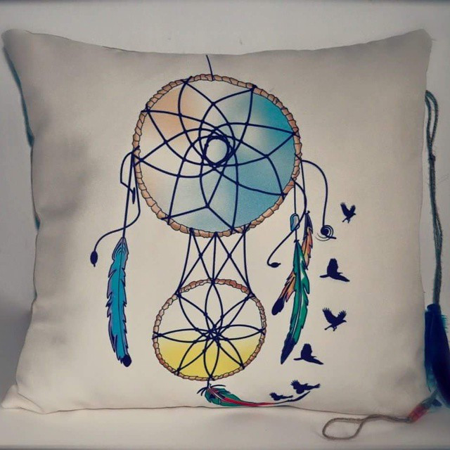 #dreamcatcher #pillow #handmade #dream #