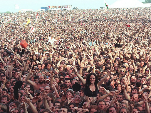 I più grandi raduni di massa (o assembramenti) nella storia del Rock