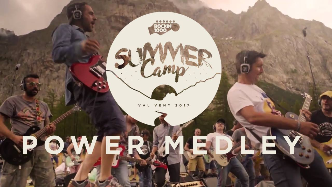 Rockin'1000 Summer Camp - Power Medley