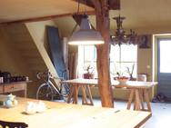 Keuken in oude zijvleugel