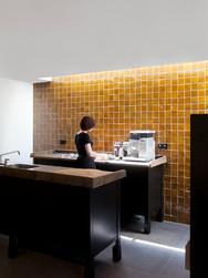 Keuken in een zijkamertje