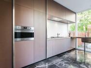 Keukenkasten uit gekleurd MDF