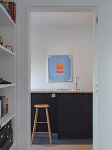 Werkkamer 2 naar keuken