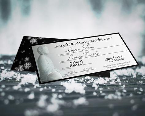 Salon Refuge Gift Certificate