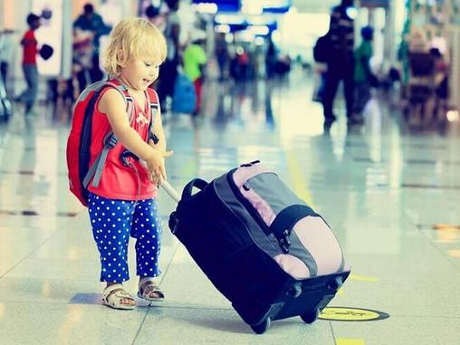 Você sabe o que é necessário para viajar com Crianças?