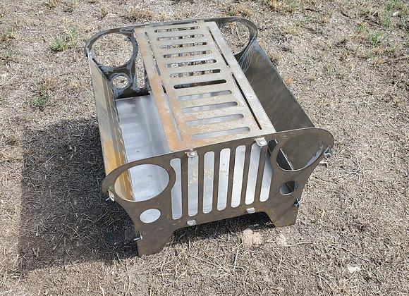 Jeep style firepit