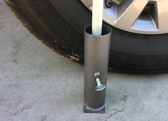 Drive-over flag mount 2 inch