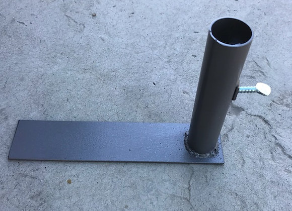 Drive-over flag mount 1-1/2""