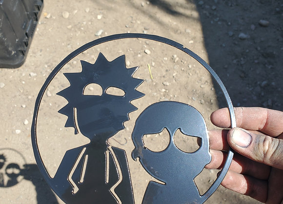 Rick and morty  sign