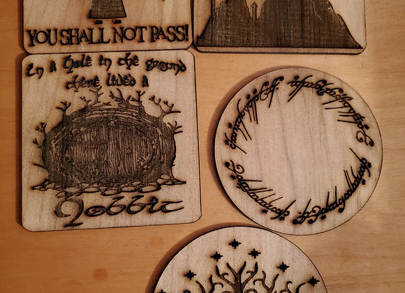 Lord of the rings coaster
