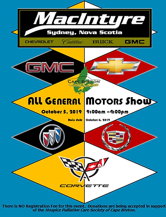 all gm show poster 2019