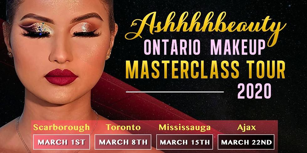 ASHHHHBEAUTY ONTARIO MAKEUP MASTERCLASS TOUR 2020 (MONTREAL)