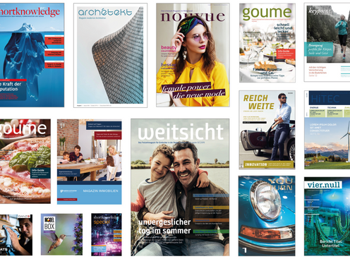 Potenzial Corporate –PublishingPublikationen sind auch ein Sales Instrument