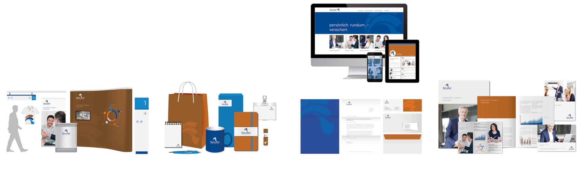 Corporate Design Lösung für Beratung