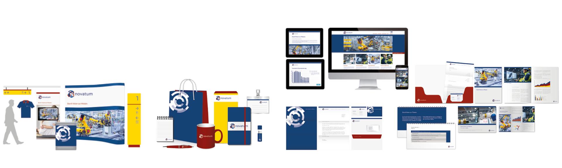 Corporate Design Lösung für Industrie
