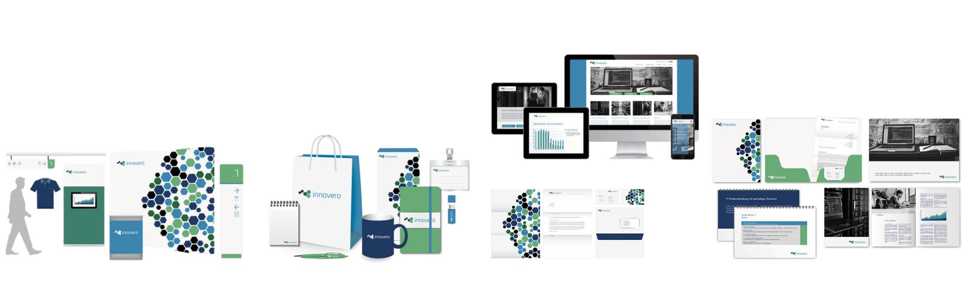 Corporate Design Lösung für Digital & Technik