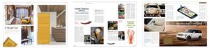 Special Interest Magazine: archetékt, goume, YouTurn (von l. nach r./ Auszug Referenzen cocomu gmbh)