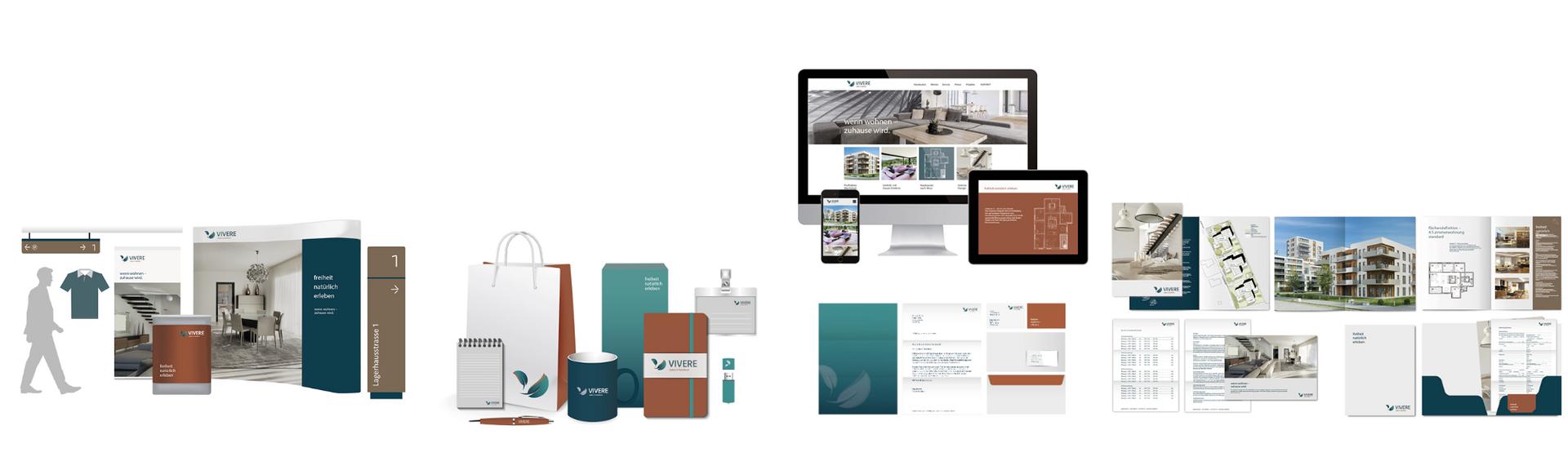 Corporate Design Lösung für Immobilien