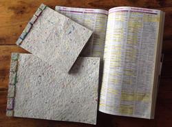 Carnet récup avec annuaire