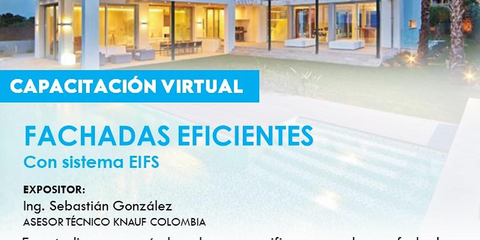 FACHADAS EFICIENTES con sistema EIFS