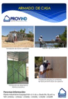 armado de casa drywall